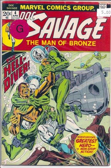 Doc Savage # 4, 2.0 GD