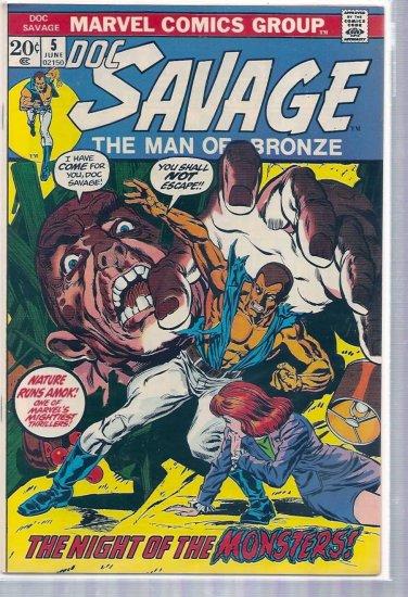 DOC SAVAGE # 5, 9.2 NM -