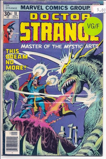 Doctor Strange # 18, 5.0 VG/FN