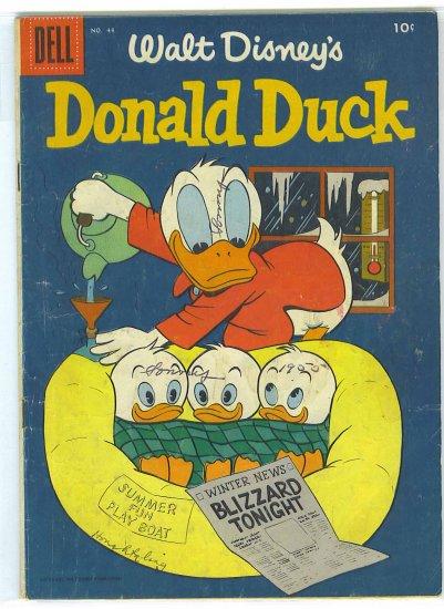 Donald Duck # 44, 3.0 GD/VG