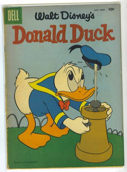 Donald Duck # 59, 2.5 GD +