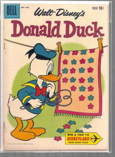 Donald Duck # 74, 6.5 FN +