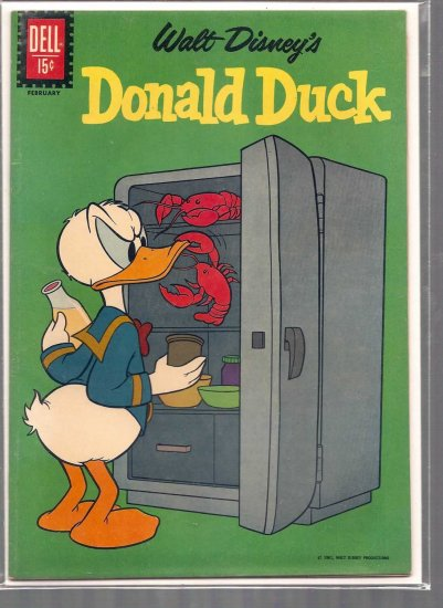 Donald Duck # 81, 5.0 VG/FN