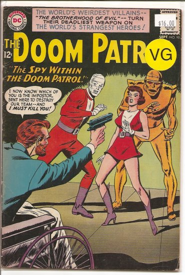 Doom Patrol # 90, 4.0 VG