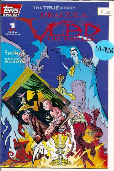 Dracula Vlad the Impaler # 1, 9.0 VF/NM
