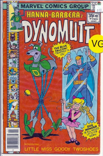 Dynomutt # 1, 4.0 VG