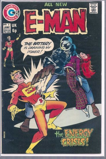 E-MAN # 3, 7.0 FN/VF