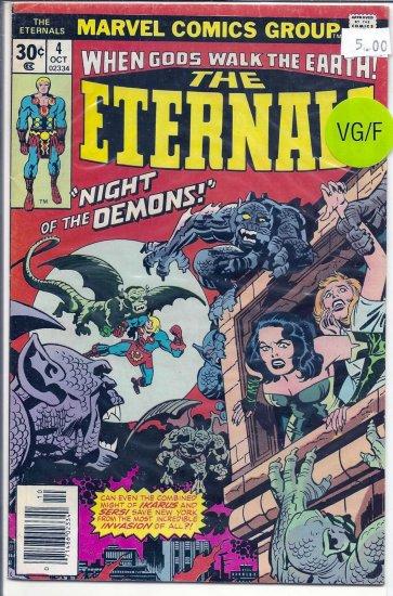 Eternals # 4, 5.0 VG/FN