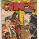 Famous Crimes # 51, 3.5 VG -