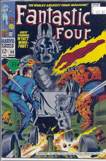 Fantastic Four # 80, 6.5 FN +