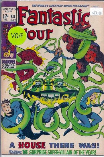 Fantastic Four # 88, 4.0 VG