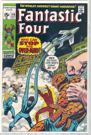 Fantastic Four # 114, 4.0 VG