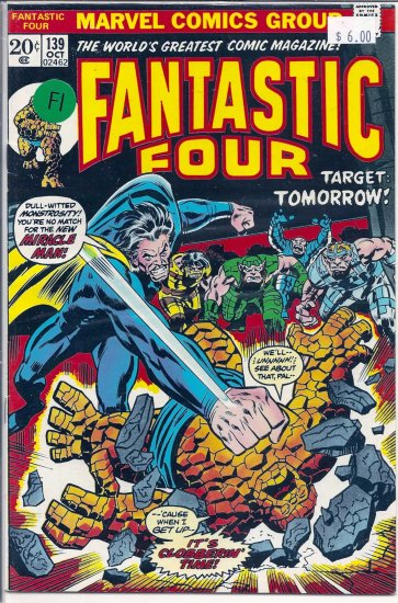 Fantastic Four # 139, 6.0 FN