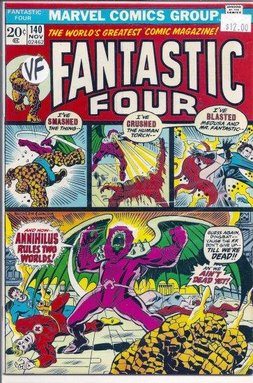 Fantastic Four # 140, 8.0 VF