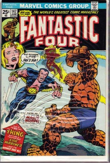 FANTASTIC FOUR # 147, 7.0 FN/VF
