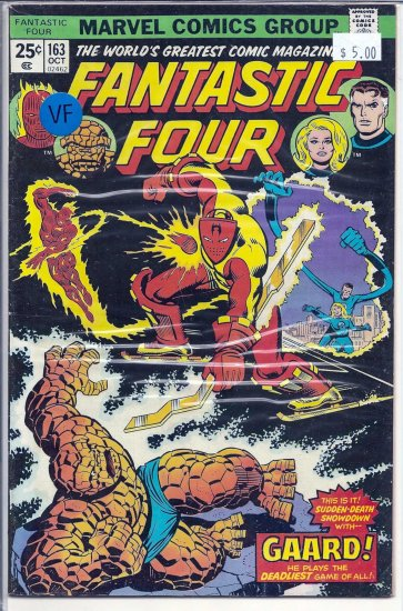 Fantastic Four # 163, 8.0 VF