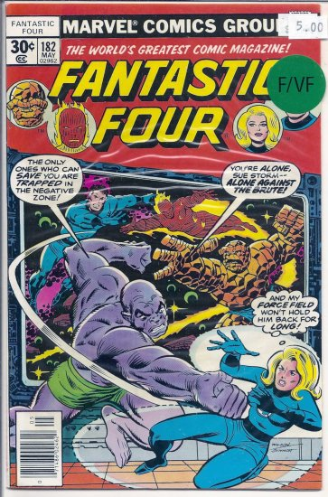 Fantastic Four # 182, 7.0 FN/VF