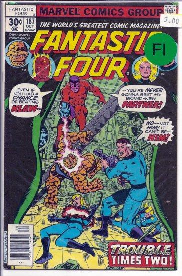 Fantastic Four # 187, 6.0 FN