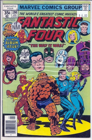 Fantastic Four # 190, 9.0 VF/NM
