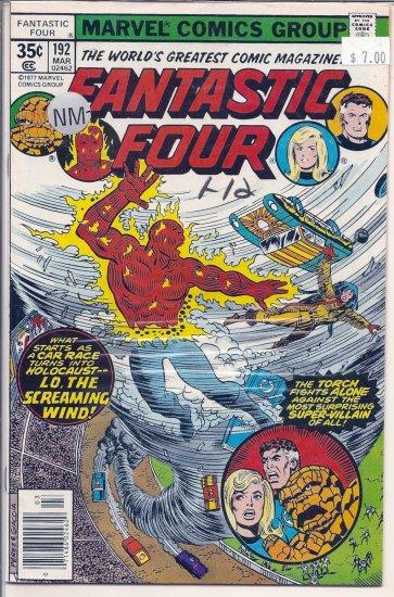 Fantastic Four # 192, 9.2 NM -