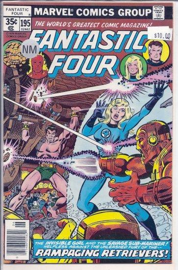 Fantastic Four # 195, 9.4 NM