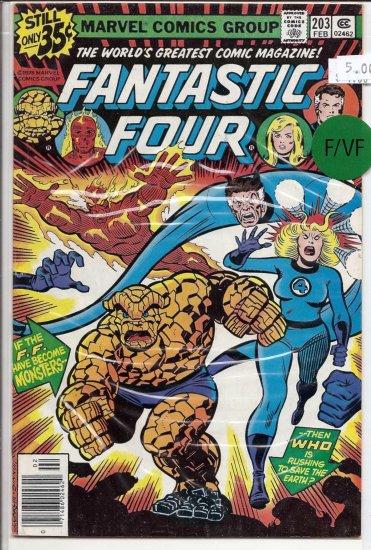 Fantastic Four # 203, 7.0 FN/VF