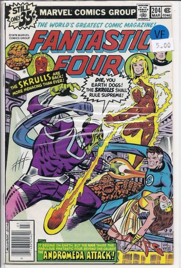 Fantastic Four # 204, 8.0 VF