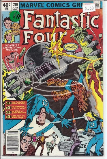 Fantastic Four # 219, 7.0 FN/VF