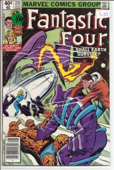 Fantastic Four # 221, 7.0 FN/VF