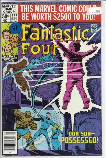Fantastic Four # 222, 8.0 VF
