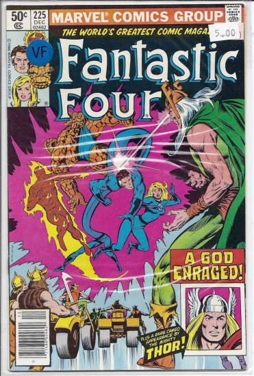 Fantastic Four # 225, 8.0 VF
