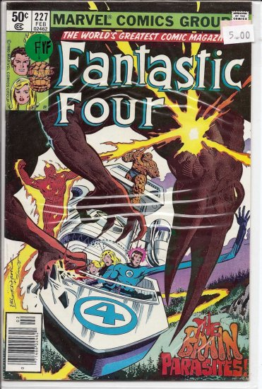Fantastic Four # 227, 7.0 FN/VF