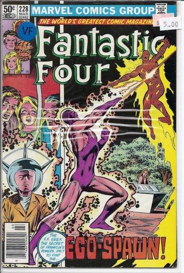 Fantastic Four # 228, 8.0 VF