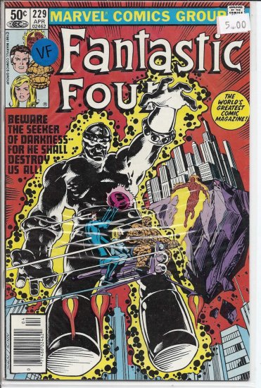 Fantastic Four # 229, 8.0 VF