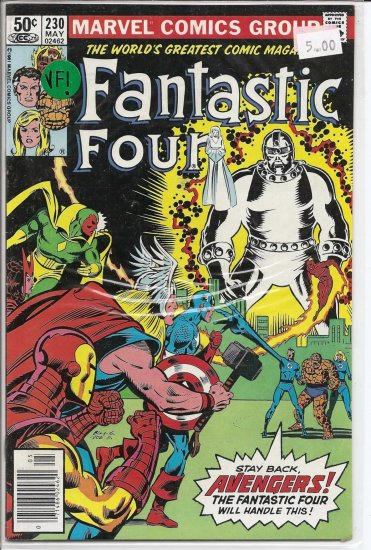 Fantastic Four # 230, 8.0 VF