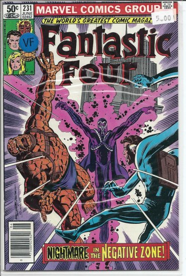 Fantastic Four # 231, 8.0 VF