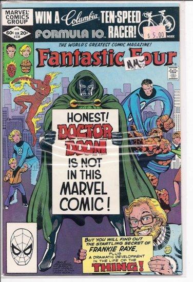 Fantastic Four # 238, 9.2 NM -