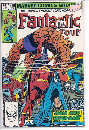 Fantastic Four # 249, 9.4 NM
