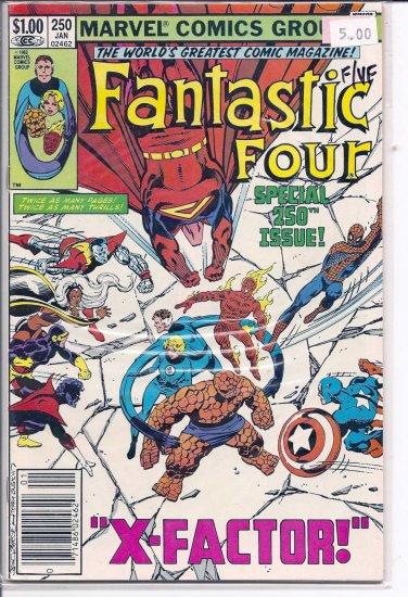 Fantastic Four # 250, 7.0 FN/VF