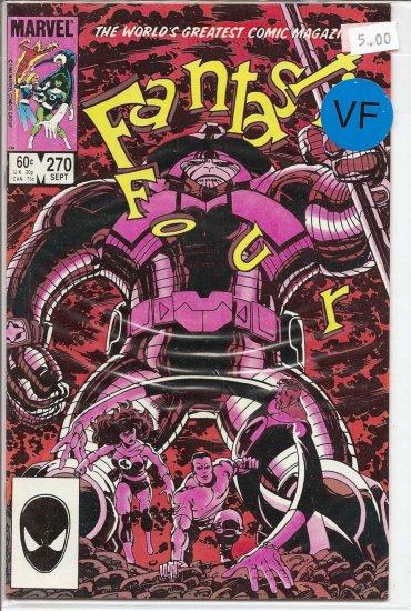 Fantastic Four # 270, 8.0 VF