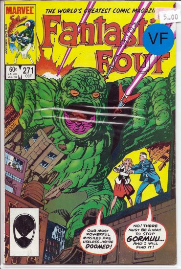 Fantastic Four # 271, 8.0 VF