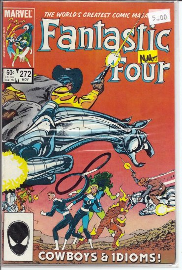 Fantastic Four # 272, 9.2 NM -