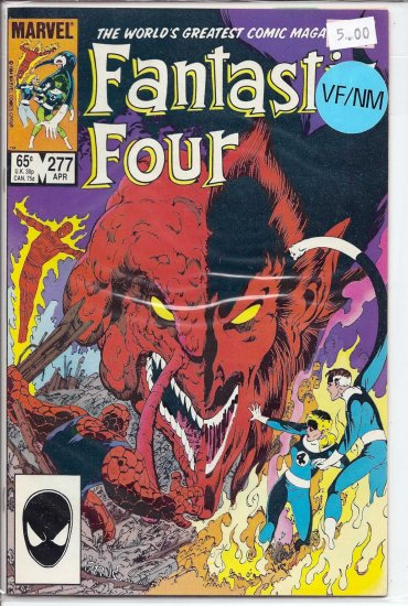 Fantastic Four # 277, 9.0 VF/NM