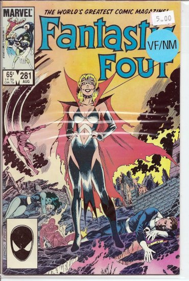 Fantastic Four # 281, 9.0 VF/NM