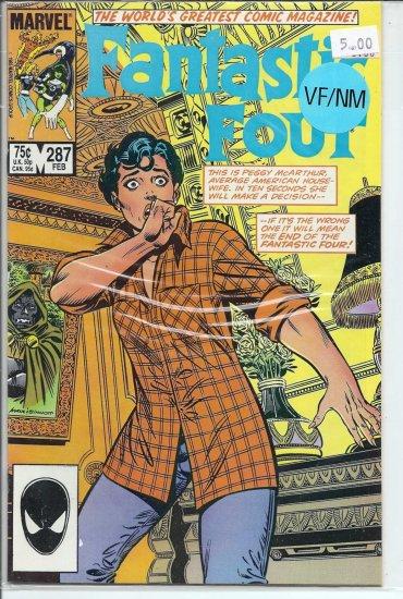 Fantastic Four # 287, 9.0 VF/NM