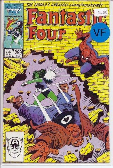 Fantastic Four # 299, 8.0 VF