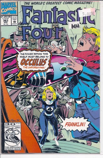 Fantastic Four # 363, 9.4 NM
