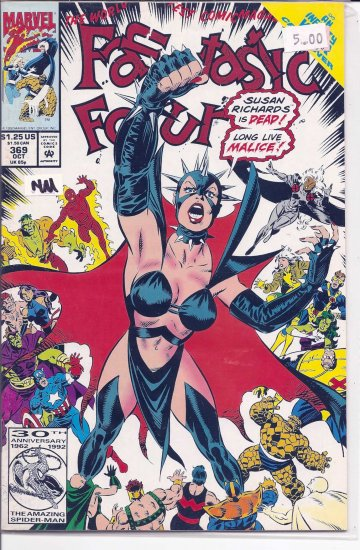 Fantastic Four # 369, 9.4 NM