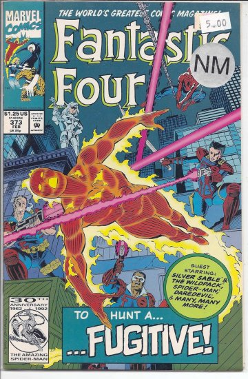 Fantastic Four # 373, 9.4 NM