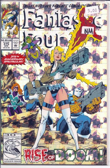 Fantastic Four # 375, 9.4 NM